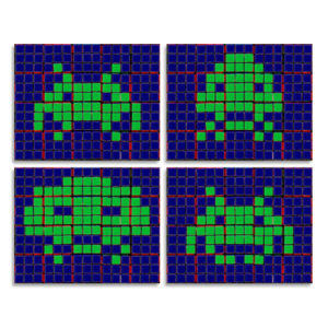 UBIK'S CUBE 'SPACE INVADERS
